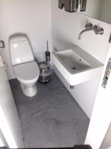 Maling af toilet